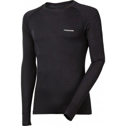 Pánské bambusové tričko PROGRESS E Ndr černá