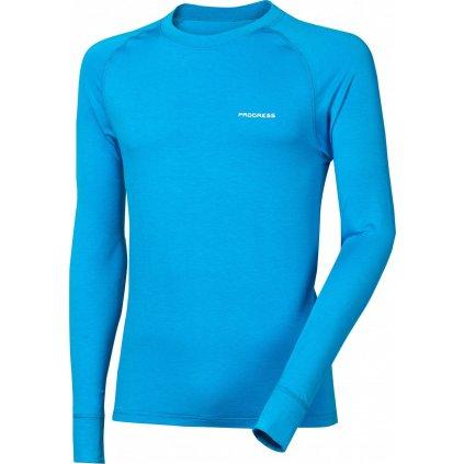 Pánské bambusové tričko PROGRESS E Ndr modrá