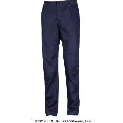 Pánské outdoorové kalhoty PROGRESS Cactus tm.modrá