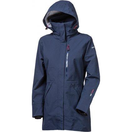 Dámský softshellový kabát PROGRESS Florence tm.modrá