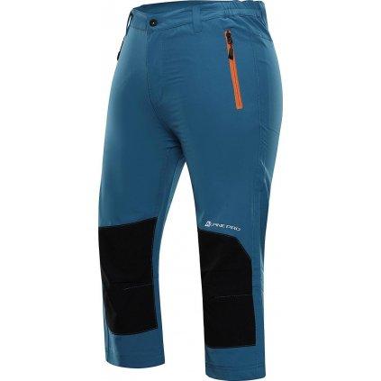 Pánské 3/4 kalhoty ALPINE PRO Kadek modré
