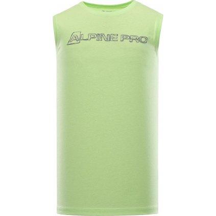Pánské tílko ALPINE PRO Houdin 2 zelené