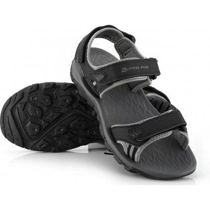 Unisex letní sandály ALPINE PRO Lamonte černé