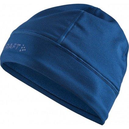 Unisex čepice CRAFT Core Essence Thermal tmavě modrá