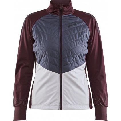 Dámská zimní bunda CRAFT Storm Balance fialová