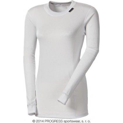 Dámské funkční tričko PROGRESS Ms Ndrz bílá
