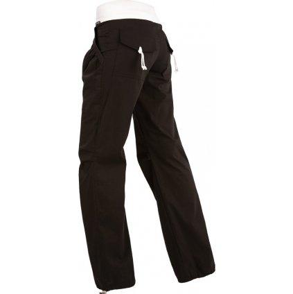 Dámské dlouhé kalhoty LITEX bokové černé