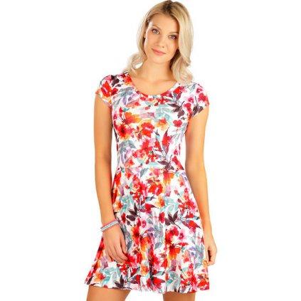 Dámské šaty LITEX s krátkým rukávem barevné