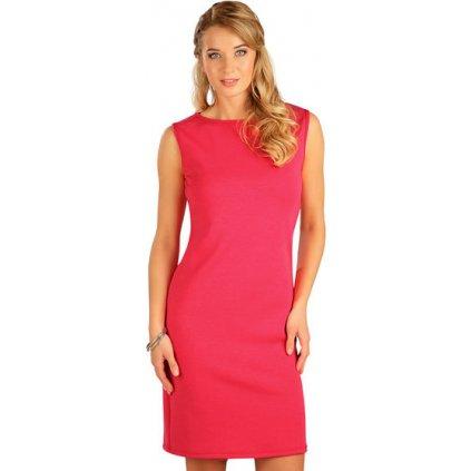 Dámské šaty LITEX bez rukávu červené