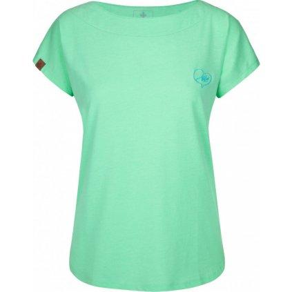 Dámské tričko KILPI Nellim-w tyrkysová