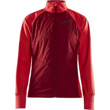 Dámská zimní bunda CRAFT Storm Balance červená