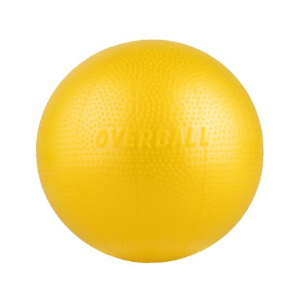 Gymnastický míč OVERBALL 23 cm žlutá