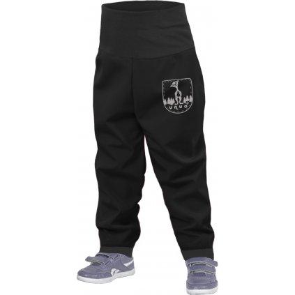 Batolecí softshellové kalhoty bez zateplení UNUO, Černá