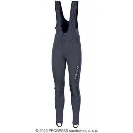 Zimní elastické kalhoty PROGRESS Zephyr černá