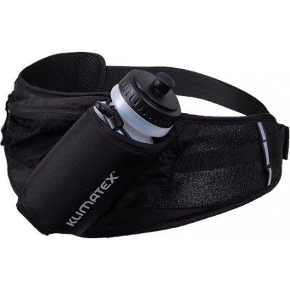 Sportovní ledvinka s lahví KLIMATEX Ron černá
