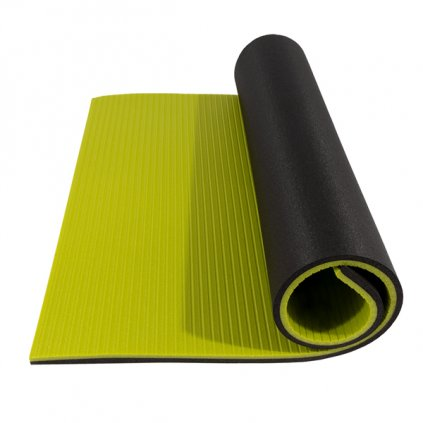 Karimatka YATE Fitness Super Elastic 95 antracit/sv. zelená