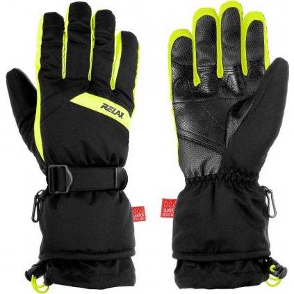 Lyžařské rukavice RELAX Frontier černé
