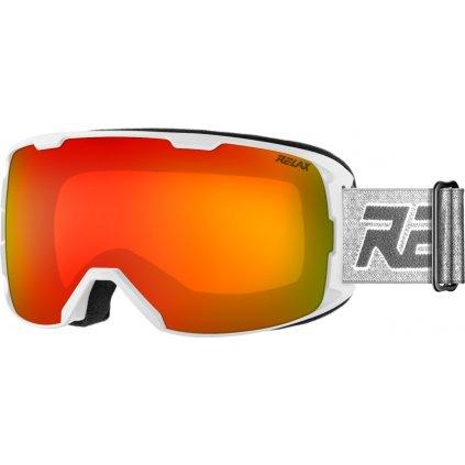 Lyžařské brýle RELAX Ace bílé