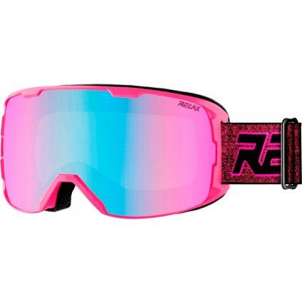 Lyžařské brýle RELAX Ace růžové