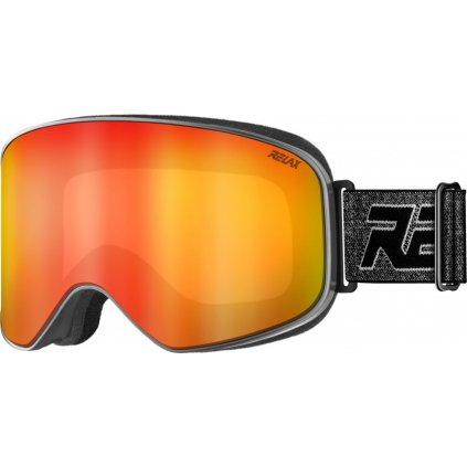 Lyžařské brýle RELAX Strike šedé