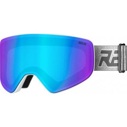 Lyžařské brýle RELAX Sierra bílé