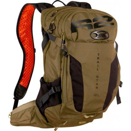 Sportovní batoh R2 Trail star hnědý