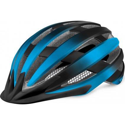 Cyklistická helma R2 Ventu černá/modrá