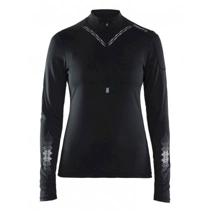 Dámské termo tričko CRAFT Brilliant 2.0 černá