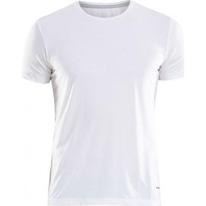 Pánské funkční tričko CRAFT Essential krátký rukáv bílá