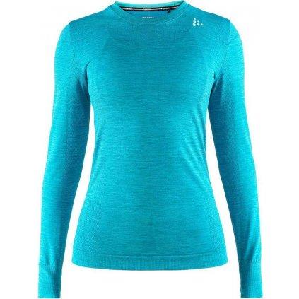 Dámské termo tričko CRAFT Fuseknit Comfort Ls modrá