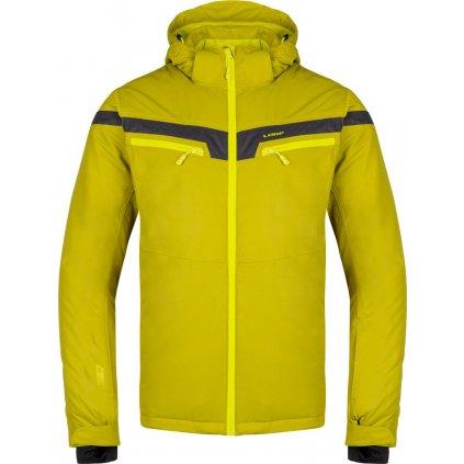 Pánská lyžařská bunda LOAP Fosek žlutá