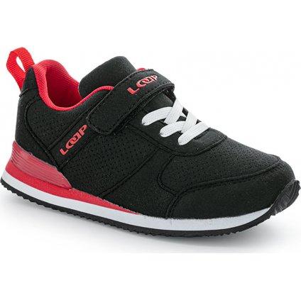 Dětská volnočasová obuv LOAP Acteon černá