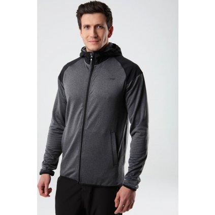 Pánský sportovní svetr LOAP Moet černý