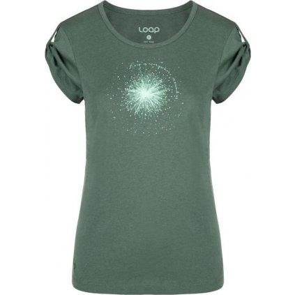 Dámské triko LOAP Ashly zelené