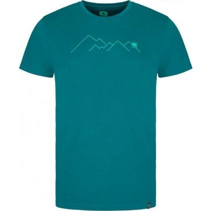 Pánské triko LOAP Mudd zelené