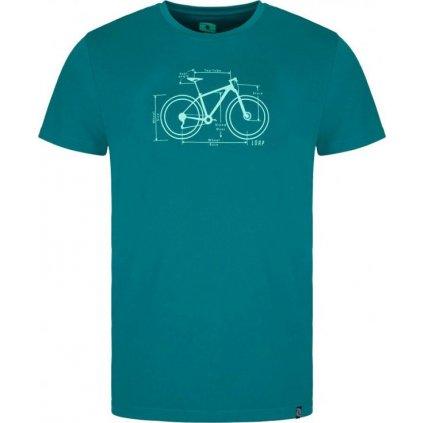 Pánské triko LOAP Mugs zelené