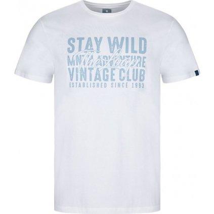 Pánské triko LOAP Alder bílé