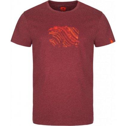 Pánské triko LOAP Bopur červené