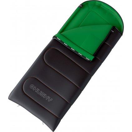Dekový spacák HUSKY Gala 0°C šedá/zelená