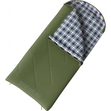 Dětský spacák dekový HUSKY Kids Galy -5°C zelená