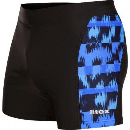 Pánské plavky LITEX boxerky černá