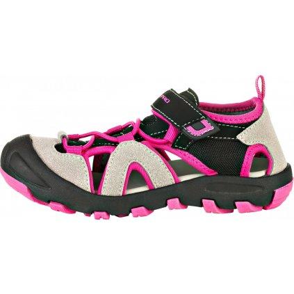 Dětské sandály ALPINE PRO Flavio růžová