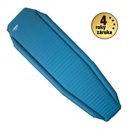 Samonafukovací karimatka YATE X-Tube Light 3,8 modrá/šedá