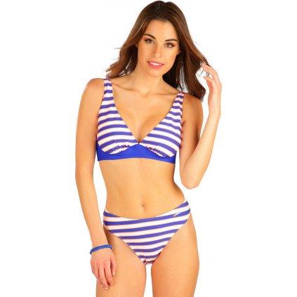 Dámské plavky kalhotky LITEX středně vysoké modrá
