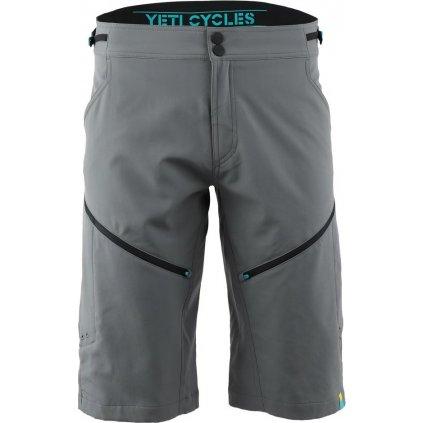Pánské cyklo kraťasy YETI Freeland 2.0 gunmetal