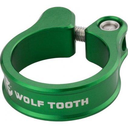 Sedlová objímka WOLF TOOTH 31.8mm zelená