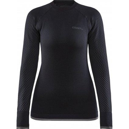 Dámské termo tričko CRAFT Adv Warm Fuseknit Intensity černá