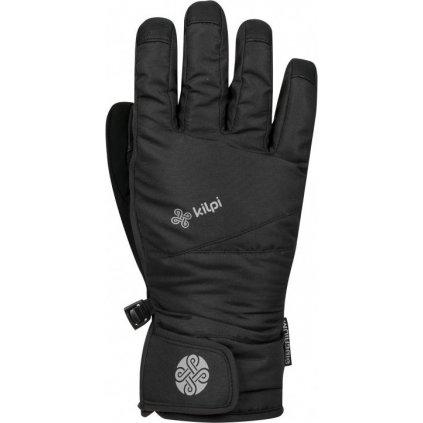 Dětské lyžařské rukavice KILPI Popo-j černá