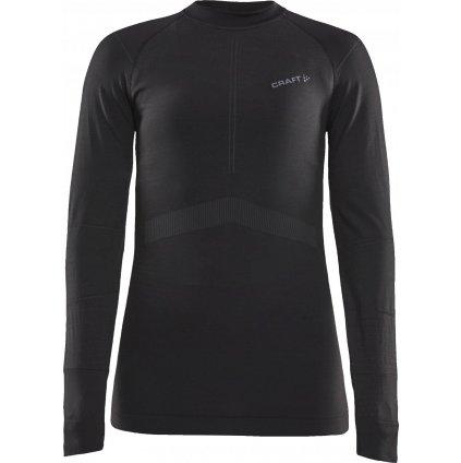 Dámské termo tričko CRAFT Active Intensity Ls černá