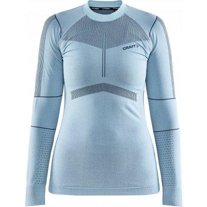 Dámské termo tričko CRAFT Active Intensity Ls světle modrá